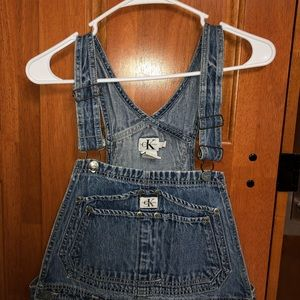 Calvin Klein overalls size Large
